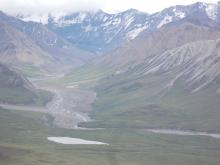 a spectacular view from Eielson Visitor Center