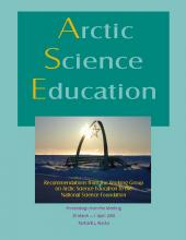 2002 Arctic Science Education Report