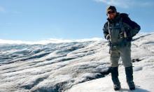 Jamie on ice in Iceland!