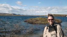 Lauren Watel in Alaska.
