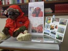 PolarTREC display at Macon County Public Library summer 2012