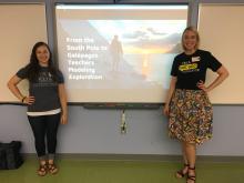 Jennifer and Kate Presentation