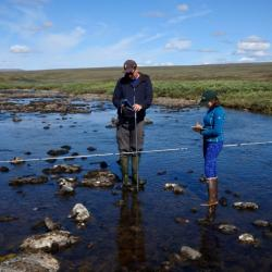 Collecting Stream Discharge Data