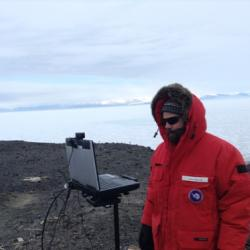Broadcasting from McMurdo