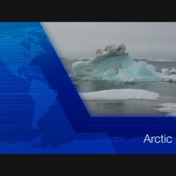 Screen shot of video title Arctic Ice