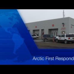 Screen shot of video title Arctic First Responders