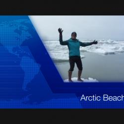 Screen shot of video title Arctic Beaches