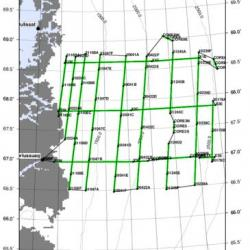 ICESat-2 Central flight lines