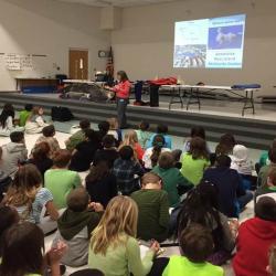 Presentation at Hilliard Horizon Elementary School