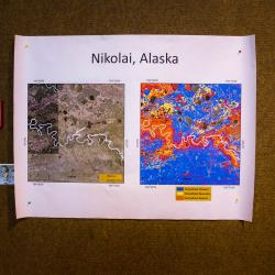 Permafrost map of Nikolai
