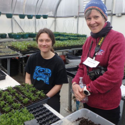 Michelle Hall and Emily Kutz Chena Fresh Greenhouse