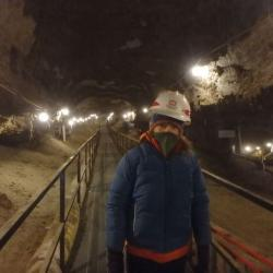 Inside the Permafrost Tunnel
