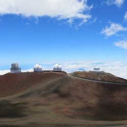 Keck Telescope on Mauna Kea