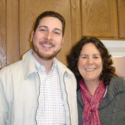 Armando and Janet at the ARCUS main office.