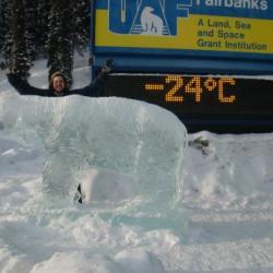 Temperature: –11 °C (–24 °F)