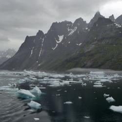 Bergy Bits and Growlers, Prins Christian Sund, Greenland