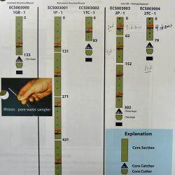 Core analysis plan