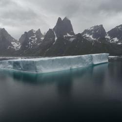 Iceberg, Prins Christian Sund, South Greenland
