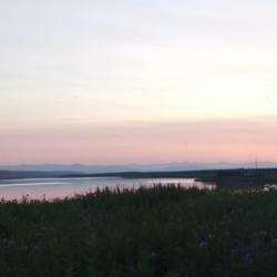 Sunset on Camp