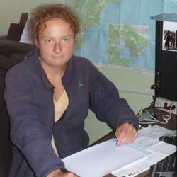 Katya at the Institute