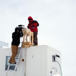 Installing the Spectroradiometer