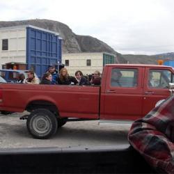 Airport Taxi; Kangerlussuaq, Greenland