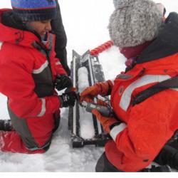 Ice coring