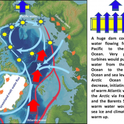 Huge dam could stop water flowing from the Pacific to the Arctic Ocean
