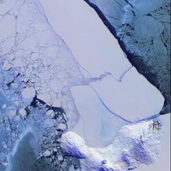 Iceberg 15A Blocking McMurdo Sound