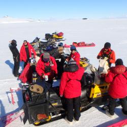 MSU Weddell Seal team Lunch