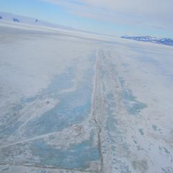 Blu ice on Pegasus Runway
