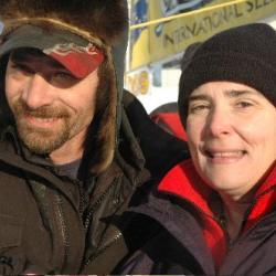 Lance Mackey at the Yukon Quest 2009