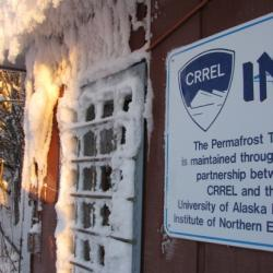 Entrance to the Permafrost Tunnel