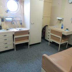 Berth space on the Healy