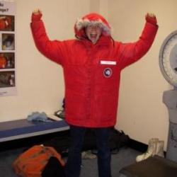 The Big Red Jacket