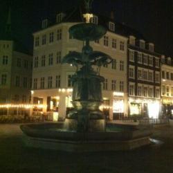 Fountain in Copenhagen, Denmark