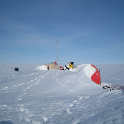 Swiss Camp - Collapsed on the Greenland Ice Sheet