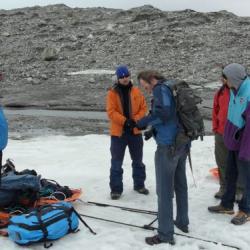 European film team working on climate documentary