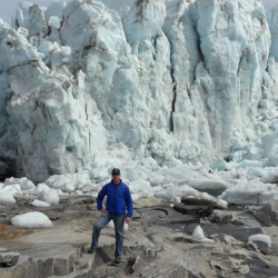 Russell Glacier - 20 to 40 meters high