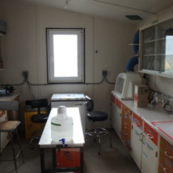 Chemistry lab at Lake Hoare
