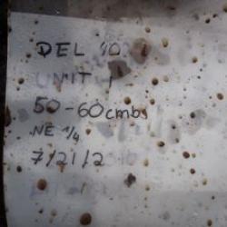 Artifact Bag Label