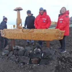 Group at Scott Base