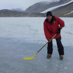 Dr. Adams hockey stick