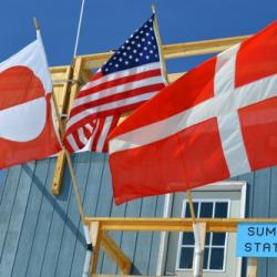 Flags Over Summit Station