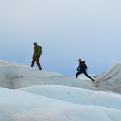 Brandon Strellis and Hannah James Walking On the Edge