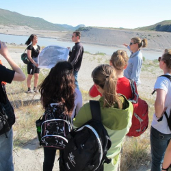 Laura Levy and Patrick explain the landscape