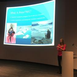 PolarTREC presentation at 49ers Museum