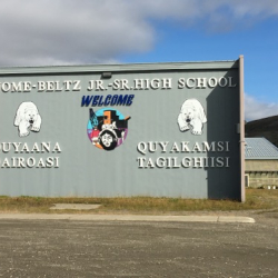 Nome Junior/Senior High School.