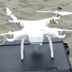 Drone ready for take off!