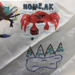 Arctic organism artwork.